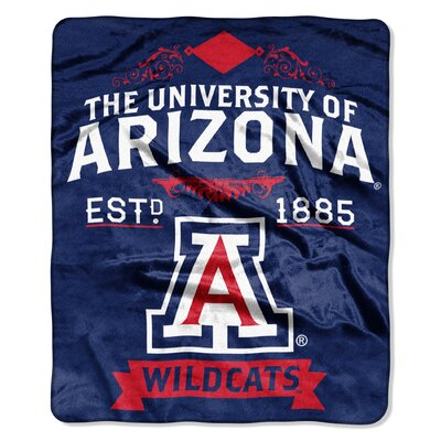 Collegiate Arizona Label Raschel Throw