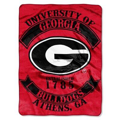 Collegiate Georgia Rebel Raschel Throw