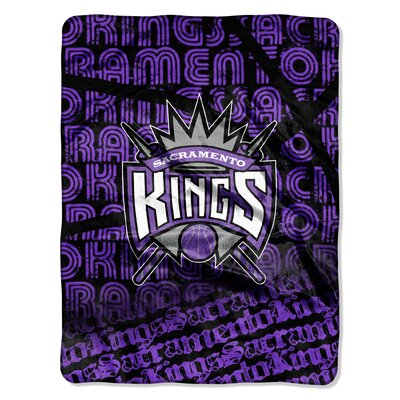 NBA Kings Redux Raschel Throw