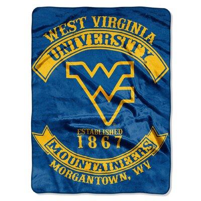 Collegiate West Virginia Rebel Raschel Throw