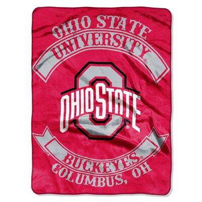 Collegiate Ohio State Rebel Raschel Throw