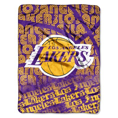 NBA Lakers Redux Raschel Throw