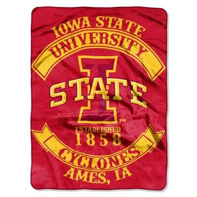 Collegiate Iowa State Rebel Raschel Throw