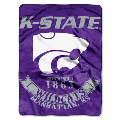 Collegiate Kansas State Rebel Raschel Throw