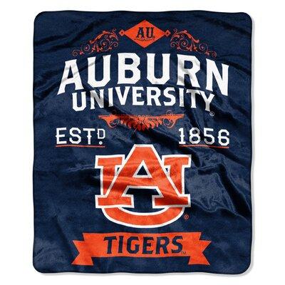 Collegiate Auburn Label Raschel Throw