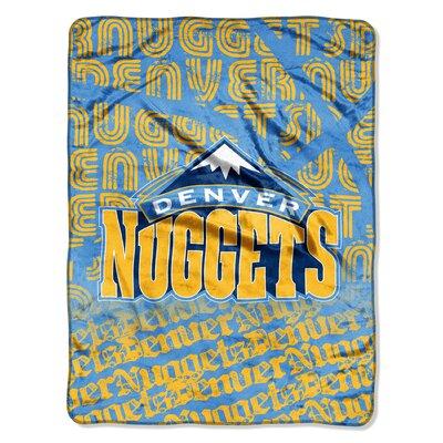 NBA Nuggets Redux Raschel Throw