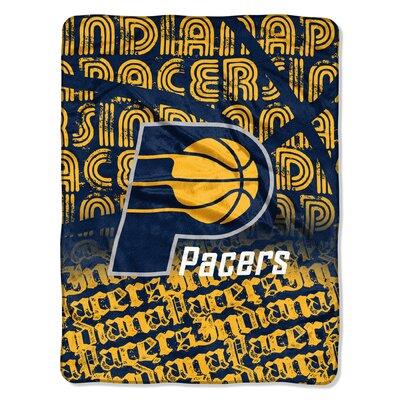 NBA Pacers Redux Raschel Throw