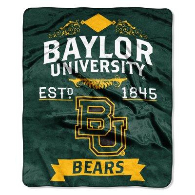 Collegiate Baylor Label Raschel Throw