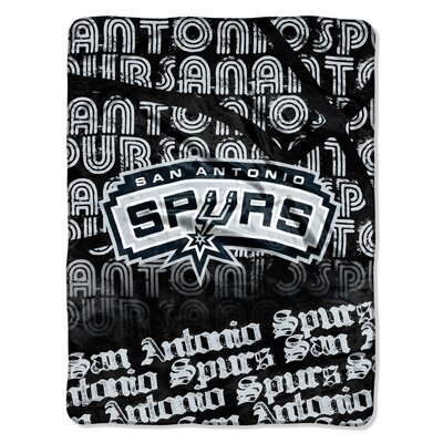 NBA Spurs Redux Raschel Throw