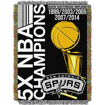NBA Spurs Commemorative Series Tapestry Throw