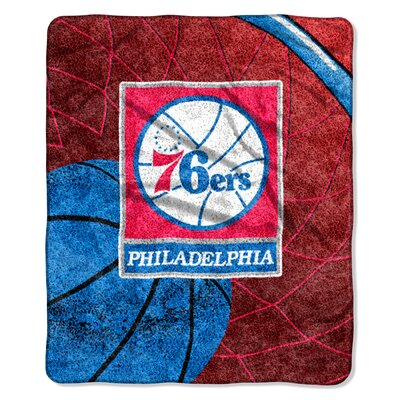 NBA 76ers Sherpa Reflect Throw