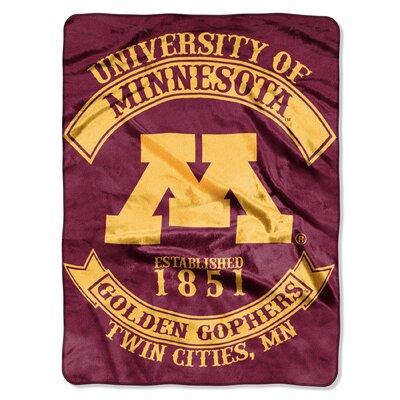 Collegiate Minnesota Rebel Raschel Throw