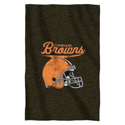 NFL Browns Throw Blanket