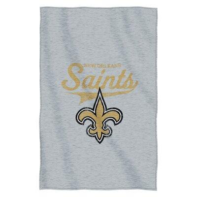 NFL Saints Throw Blanket
