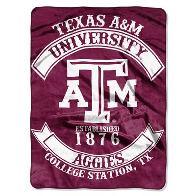 Collegiate Texas A&M Rebel Raschel Throw