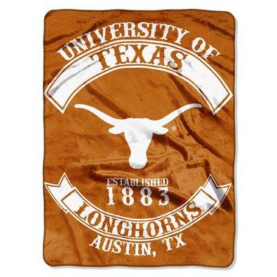 Collegiate Texas Rebel Raschel Throw