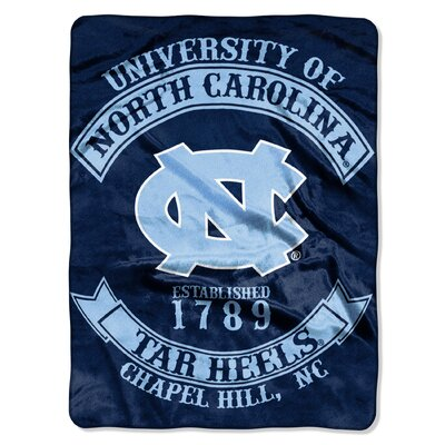 Collegiate UNC Rebel Raschel Throw