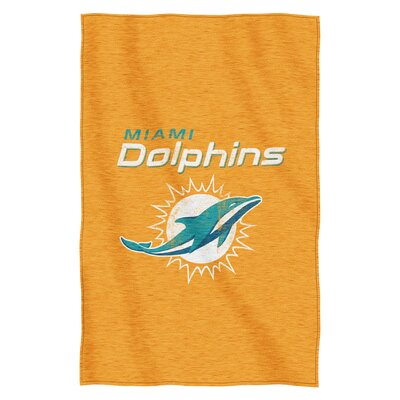 NFL Dolphins Throw Blanket