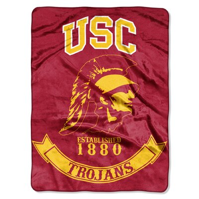 Collegiate USC Rebel Raschel Throw