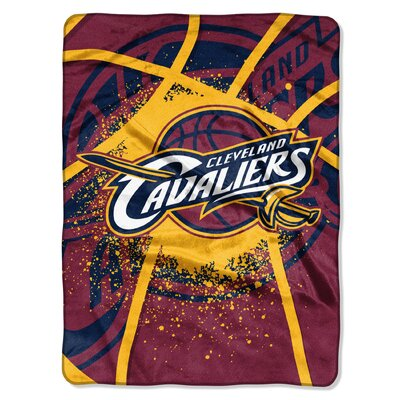 NBA Cleveland Cavaliers Shadow Play Polyester Raschel Throw