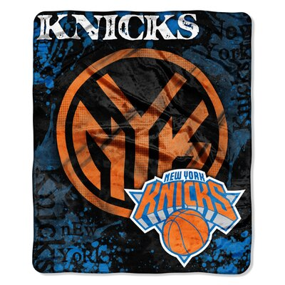 NBA Knicks Dropdown Raschel Throw