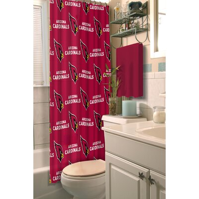 NFL Cardinals Shower Curtain