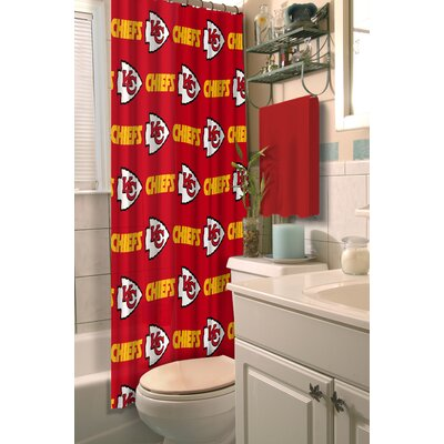NFL Chiefs Shower Curtain