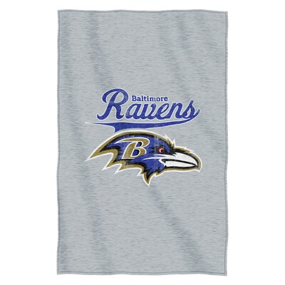 NFL Ravens Throw Blanket