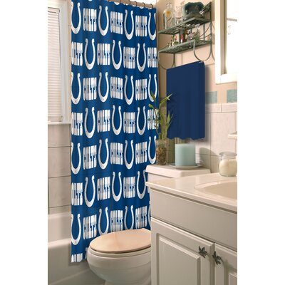 NFL Shower Curtain NFL Team: Colts