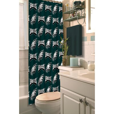 NFL Eagles Shower Curtain