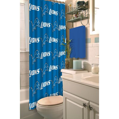 NFL Lions Shower Curtain