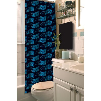 NFL Shower Curtain NFL Team: Panthers