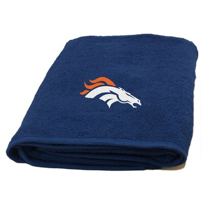 NFL Applique Bath Towel NFL Team: Broncos