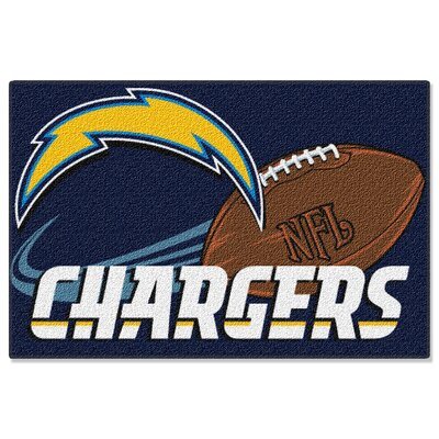 NFL Chargers Mat
