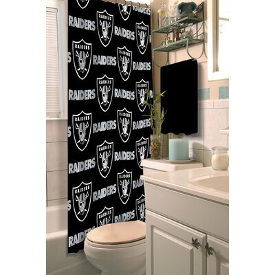 NFL Shower Curtain NFL Team: Raiders