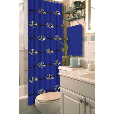 NFL Shower Curtain NFL Team: Ravens