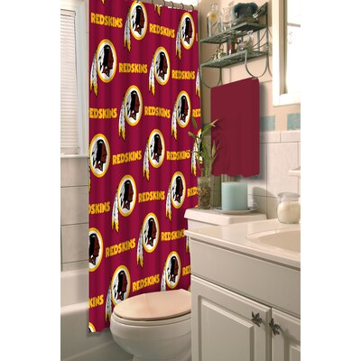 NFL Shower Curtain NFL Team: Redskins