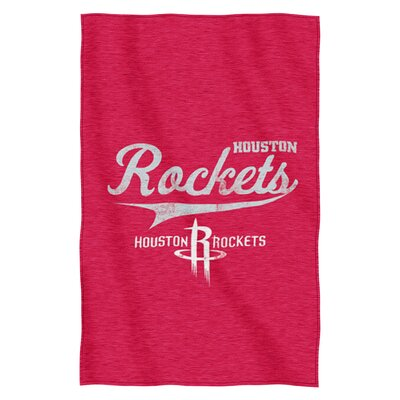 NBA Rockets Throw Blanket