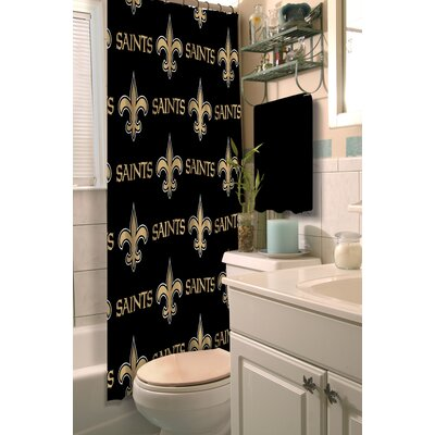 NFL Shower Curtain NFL Team: Saints