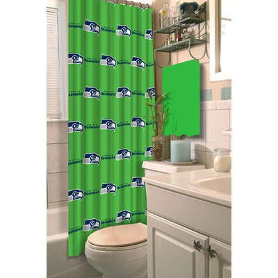 NFL Shower Curtain NFL Team: Seahawks