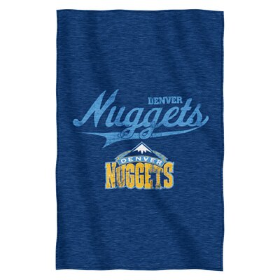 NBA Nuggets Throw Blanket