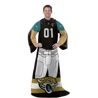 NFL Jaguars Uniform Comfy Throw