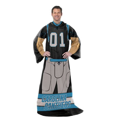 NFL Panthers Uniform Comfy Throw