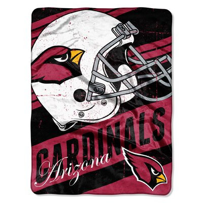 NFL Cardinals Deep Slant Micro Raschel Throw