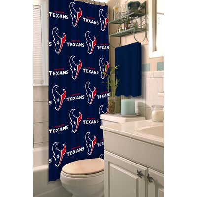 NFL Shower Curtain NFL Team: Texans