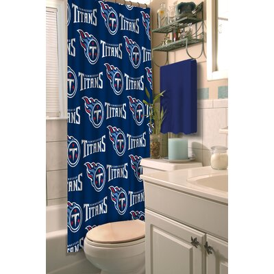 NFL Shower Curtain NFL Team: Titans