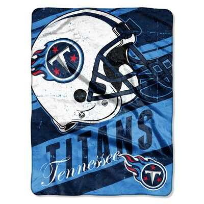 NFL Titans Deep Slant Micro Raschel Throw