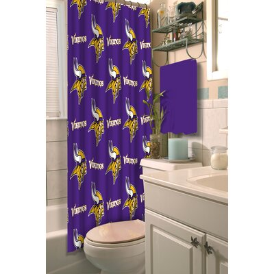 NFL Shower Curtain NFL Team: Vikings