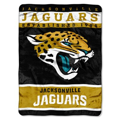NFL Jaguars 12th Man Raschel Throw