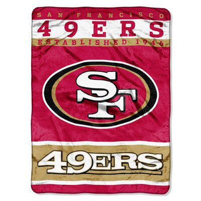 NFL 49ers 12th Man Raschel Throw